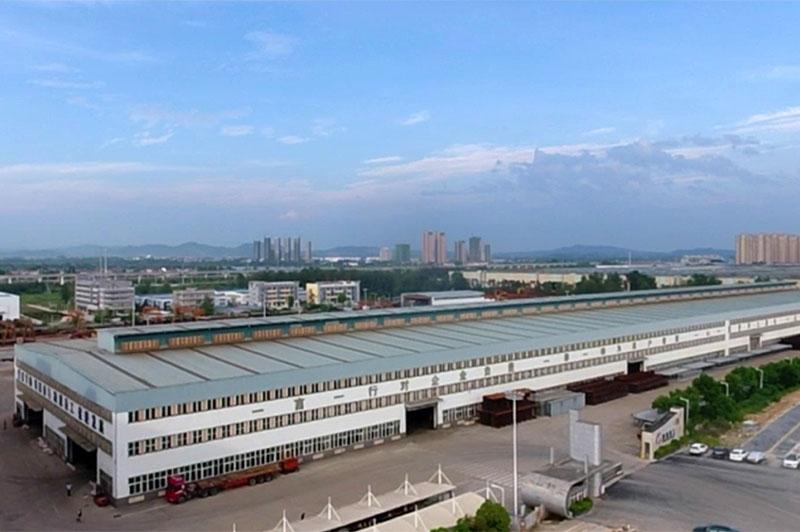 团风县辉创重工钢构厂房